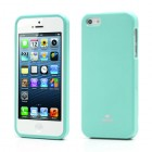 """""""Mercury"""" Color kieto silikono (TPU) žalias (mėtinis) Apple iPhone SE (5, 5s) dėklas (dėkliukas)"""