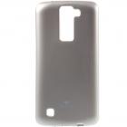 LG K8 auksinis Mercury kieto silikono (TPU) dėklas - nugarėlė