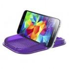 Violetinis Anti-Slip Pad automobilinis kilimėlis, laikiklis (S dydis)