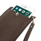 """""""Bark"""" universali ruda odinė įmautė - piniginė (XXL dydis)"""
