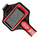 """""""Baseus"""" dėklas sportui (raištis ant rankos) - raudonas, universalus (L+ dydis)"""