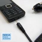 Originalus Nokia automobilinis įkroviklis su integruotu laidu su 2 mm. jungtimi (DC-4, Europa)