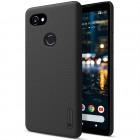 Nillkin Frosted Shield Google Pixel 2 XL juodas plastikinis dėklas