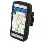 """""""Handlebar"""" universalus juodas telefono dėklas dviračiui (XL)"""