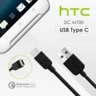 HTC Type-C USB 73H0062100M juodas laidas 1,2 m. (originalus)