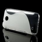 HTC Desire 300 skaidrus dėklas