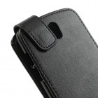 Atverčiamas HTC Desire 500 juodas dėklas