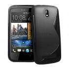 HTC Desire 500 juodas dėklas