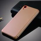 HTC Desire 820 Smart Dot View atverčiamas auksinis dėklas