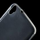 HTC Desire 820 skaidrus (permatomas) kieto silikono TPU ploniausias pasaulyje bespalvis dėklas