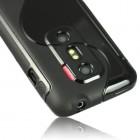 HTC Evo 3D juodas dėklas