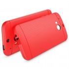 """HTC One M8 ir HTC One M8s """"Dots"""" kieto silikono raudonas TPU dėklas - nugarėlė"""