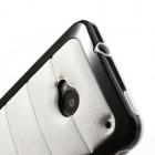 """""""Infisens"""" Hybrid Bumper HTC One M7 juodas dėklas"""