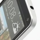 """Love Mei"" HTC One M7 sidabrinis rėmelis"