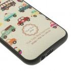 """""""My Colors"""" HTC One M8 spalvotas kieto silikono (TPU) dėklas - Autos"""
