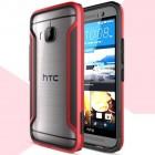 HTC One M9 Nillkin Slim rėmelis (kraštų apvadas, bamperis) - raudonas