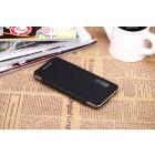 """""""ROCK"""" Elegant HTC One mini atverčiamas juodas dėklas"""