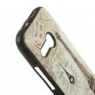 HTC One Mini 2 (HTC One M8 mini) spalvotas kieto silikono TPU dėklas (nugarėlė) - Eifelis