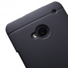 """Nillkin"" Frosted Shield HTC One M7 juodas dėklas"