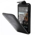 Atverčiamas HTC One X juodas dėklas