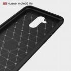 """Huawei Mate 20 Lite """"Carbon"""" kieto silikono TPU juodas dėklas - nugarėlė"""