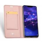 """Dux Ducis"""" Skin serijos Huawei Mate 20 Lite rožinis odinis atverčiamas dėklas"""