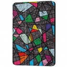 Huawei MediaPad T3 10 atverčiamas spalvotas odinis dėklas - knygutė