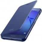 Oficialus Huawei P9 lite 2017 (Huawei P8 Lite 2017) Smart Flip Cover mėlynas atverčiamas dėklas - knygutė