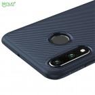 """Huawei P30 Lite """"Lenuo"""" kieto silikono TPU mėlynas dėklas - nugarėlė"""