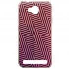 """""""Pattern"""" raštuotas rožinis kieto silikono Huawei Y3 II (Huawei Y3 2) dėklas"""