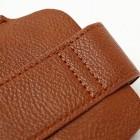 Universali ruda odinė įmautė su kišenėle - piniginė (L dydis)