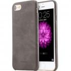"""""""USAMS"""" Slim Leather Bob serijos Apple iPhone 7 (iPhone 8) rudas odinis dėklas - nugarėlė"""