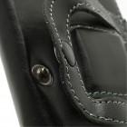 """""""Belt Clip"""" universalu juodas odinis dėklas prie diržo (L dydis)"""