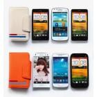 """""""Kalaideng"""" Versal universalus smėlio spalvos odinis telefono dėklas telefonas iki 4,2"""" colių"""