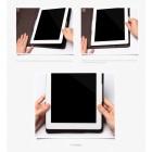 """""""Kalaideng"""" Versal juodas odinis universalus atverčiamas planšetės dėklas - piniginė, tinkantis 10.1"""" planšetėms"""
