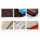 """""""Kalaideng"""" Versal universalus smėlio spalvos odinis telefono dėklas telefonas iki 5,5"""" colių"""