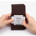 """""""Kalaideng"""" Versal universalus juodas odinis telefono dėklas telefonas iki 5,5"""" colių"""