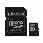 """""""Kingston"""" MicroSD atminties kortelė 16 Gb, 10 Klasė su SD adapteriu"""