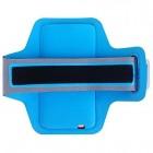 Led dėklas sportui (raištis ant rankos) - mėlynas, universalus (L+ dydis)