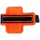 Led dėklas sportui (raištis ant rankos) - oranžinis, universalus (L+ dydis)