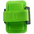 Led dėklas sportui (raištis ant rankos) - žalias, universalus (L+ dydis)