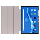 """Lenovo Tab M10 10.1"""" HD 2 Gen (TB-X306F, X306X) atverčiamas mėlynas odinis dėklas (sulankstomas)"""