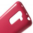 """""""Mercury"""" tamsiai rožinis LG G2 mini D620 dėklas (dėkliukas)"""