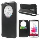 Roar Noble atverčiamas LG G3 D855 (D850, D851) juodas odinis dėklas