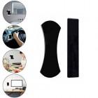 """""""Fixate"""" silikoninis juodas lipnių kilimėlių komplektas"""