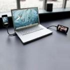 Lankstus metalinis micro USB laidas (kabelis)