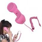 """""""MsPhone"""" anti-radiacinis retro stiliaus ragelis - rožinis"""