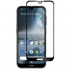 """Nokia 2.2 (2019) """"Rurihai""""  9H Tempered Glass sustiprintos apsaugos juodas pilnai dengiantis apsauginis ekrano stiklas 0,26 mm"""
