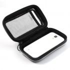 OO Sports universalus juodas telefono dėklas dviračiui (L)