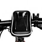 """OQSPORT"" juodas dėklas - dviračio krepšys (L)"